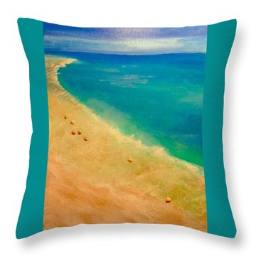 Lumbarda Throw Pillow