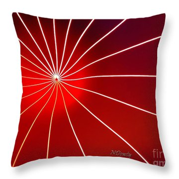 Luminarium Throw Pillow