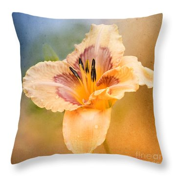 Throw Pillow featuring the photograph Luminosity by Betty LaRue