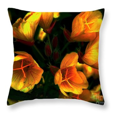 Throw Pillow featuring the photograph Luminous by Elfriede Fulda