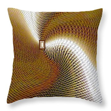 Luminous Energy 16 Throw Pillow by Will Borden