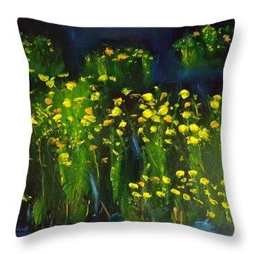 Lumonious Buds     17 Throw Pillow