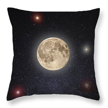Luna Lux Throw Pillow