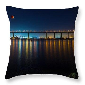 Luna Throw Pillow by Ryan Weddle