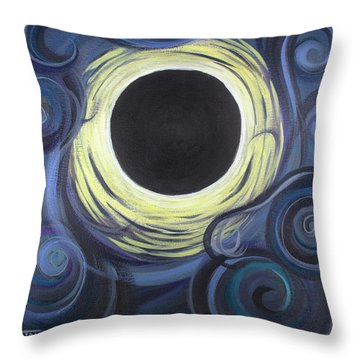 Luna Synchronicity Throw Pillow