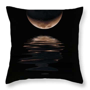 Lunar Dance Throw Pillow by Jerry McElroy