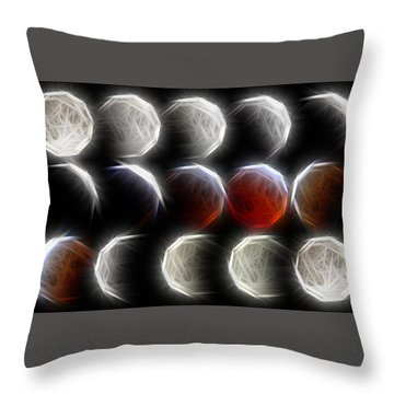 Lunar Eclipse Progression Throw Pillow