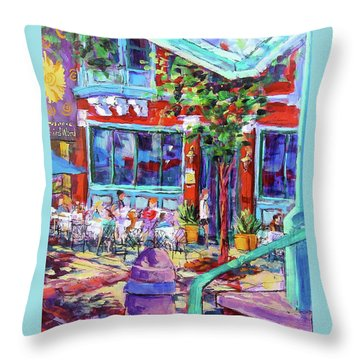 Lunch Alfresco Throw Pillow