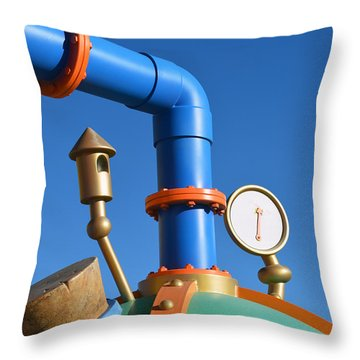 Lunchtime Throw Pillow by Bill Dutting