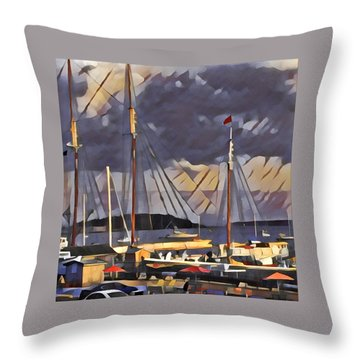 Lunenberg Throw Pillow