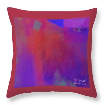 Meditation-lungta Windhorse Throw Pillow
