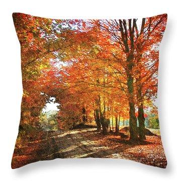 Lupton Road Throw Pillow