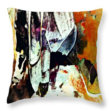 Luray Abstracts Throw Pillow