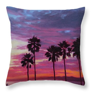 Lush Throw Pillow by Andrew Danielsen