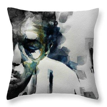Lush Life  John Coltrane  Throw Pillow