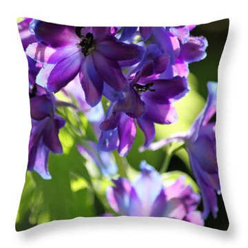 Lush Throw Pillow by Suzanne Gaff