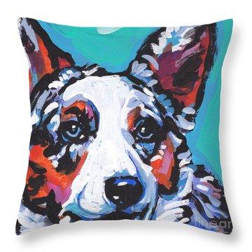 Luv The  Cardi Throw Pillow