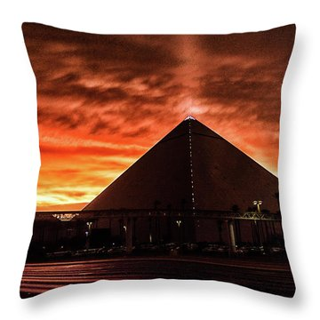 Luxor Las Vegas Throw Pillow