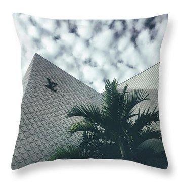 Lv Miami Throw Pillow