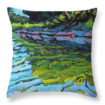 Lyndhurst Shoreline Throw Pillow