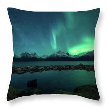 Milky Way Throw Pillows