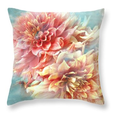Lynia Dahlia Throw Pillow