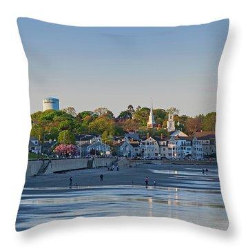 Lynn Waterfront Swampscott Water Tower Lynn Ma Throw Pillow
