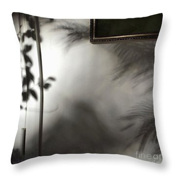 Lysiloma Shadows Throw Pillow