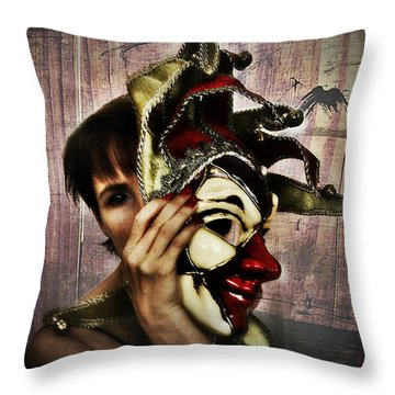 Lyttle Phoenix 1 Throw Pillow