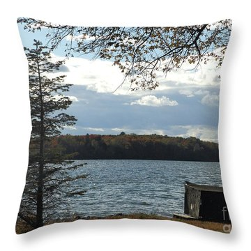 M Landscapes Fall Collection No. Lf52 Throw Pillow