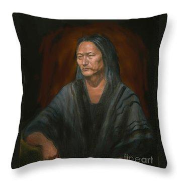 #m14'11 Throw Pillow