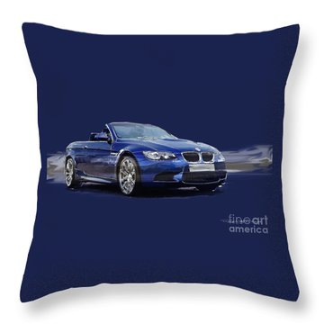 M3 Vert Throw Pillow