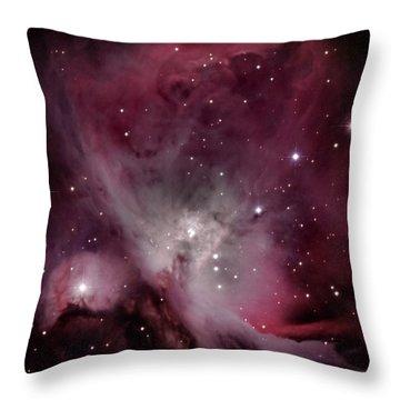 M42 Orion Nebula Throw Pillow