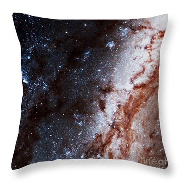 M51 Hubble Legacy Archive Throw Pillow