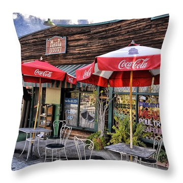 Ma And Pa Throw Pillow by Bob Winberry