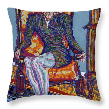 Ma Fiancee Throw Pillow by Robert SORENSEN