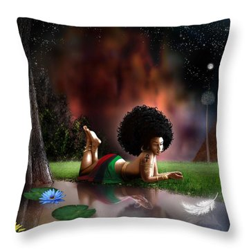 Maat  Throw Pillow
