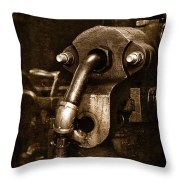 Machine Head 2 Throw Pillow