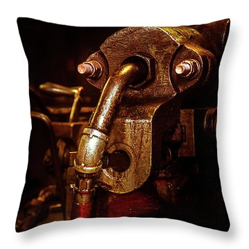 Machine Head 3 Throw Pillow