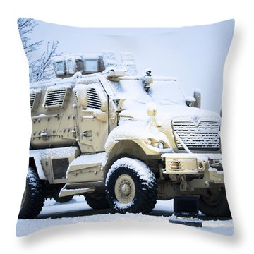 Machines Of War Throw Pillow