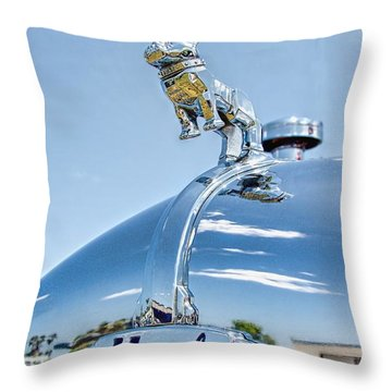 Mack Hood Ornament Throw Pillow