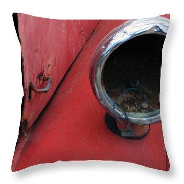 Mack Light Throw Pillow by Renie Rutten
