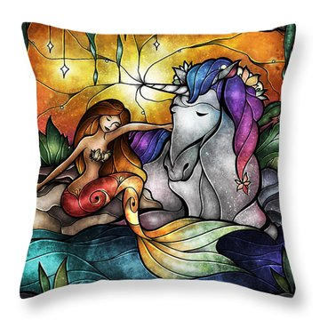 Mackenzie's Treasure Throw Pillow