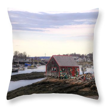 Mackerel Cove Throw Pillow