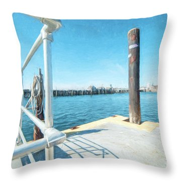 Macmillan Pier Throw Pillow