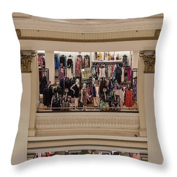Macy's Department Store Throw Pillow