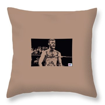 Mad Mcgregor Throw Pillow