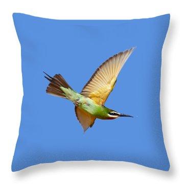 Madagascar Bee-eater T-shirt Throw Pillow
