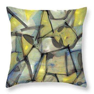 Madcap Light Throw Pillow by Lynne Taetzsch