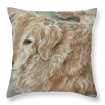 Maddie  Throw Pillow by Meagan  Visser